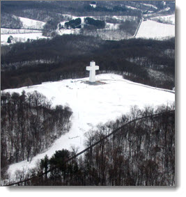 winter at the cross