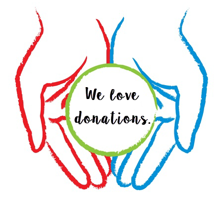 we love donations