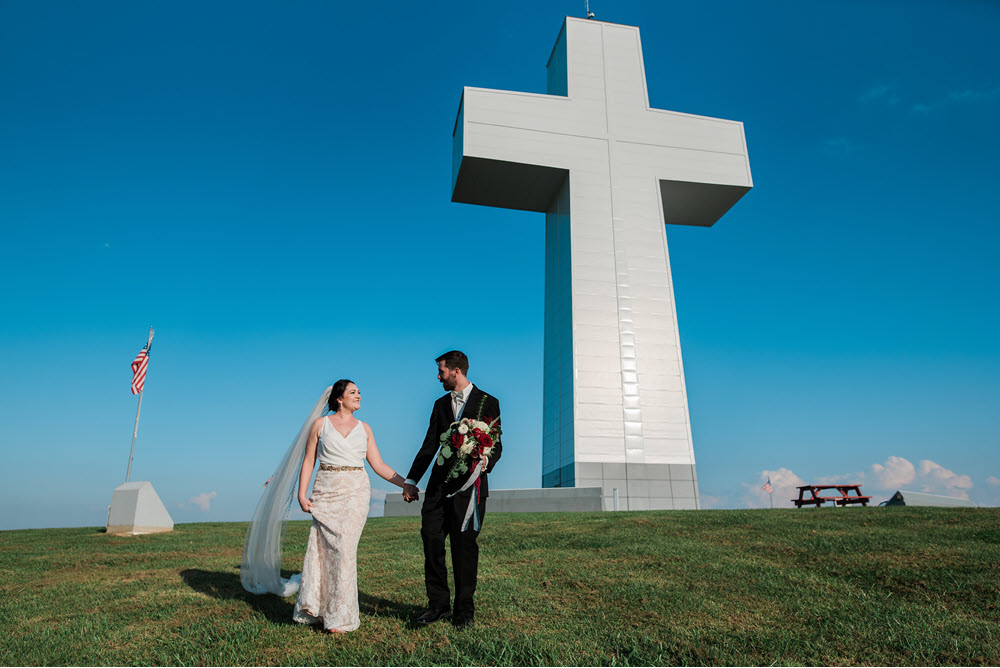 ceremony at the cross